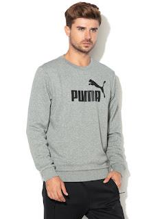 Puma - Мъжки Суитшърт със стандартна кройка и лого