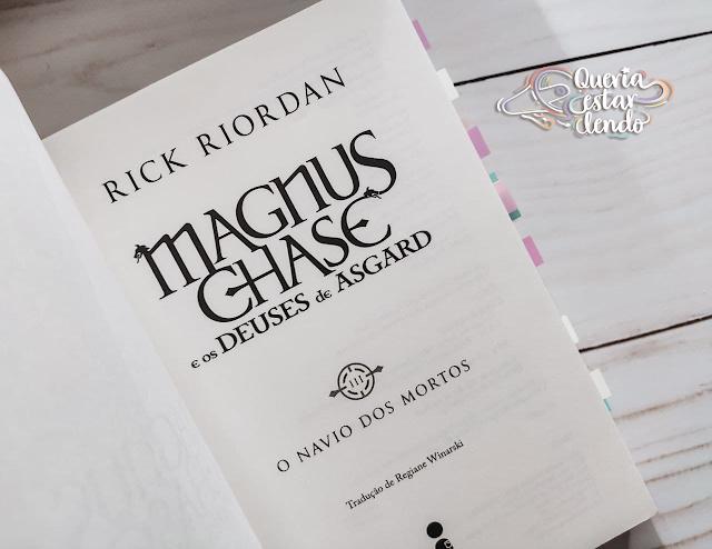 Resenha: O Navio dos Mortos - Rick Riordan