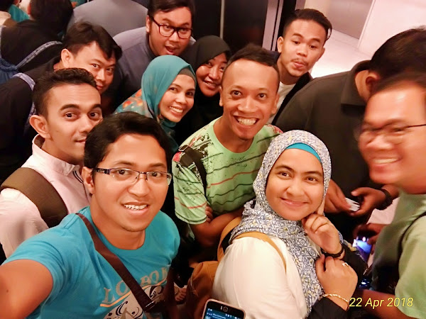 Keseruan Blogger Asus di Launching Zenfone Max Pro M1 di Jakarta Part 1