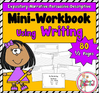 Mini Workbook using Writing Prompts