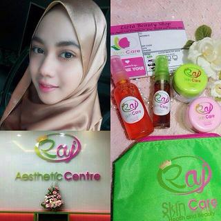 Riview Testimoni Raj Skincare dengan Kemasan dan Logo Baru