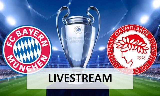 Bayern Olympiakos Гјbertragung Live