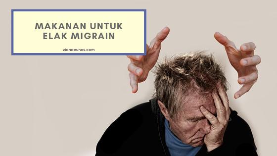 5 Makanan Untuk Pesakit Migrain dan Cara Mengatasi Migrain