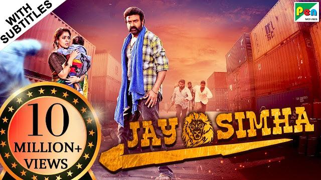 Jay Simha (2019)  South Movie Hindi Dubbed