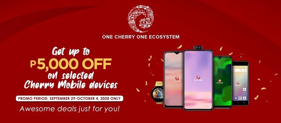 CHERRY'S Exclusive and Awesome Deals only at Cherry Shop Online Store until October 4, 2020