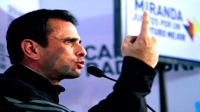capriles a elecciones