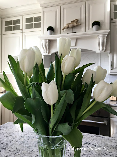 Tulips for Easter Decor