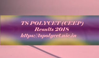 TS CEEP Results 2018   TS CEEP 2018 Results   Polycet Results   TS POLYCET Results