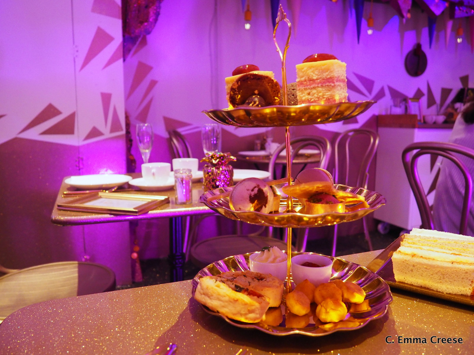 Genie's Cave Afternoon Tea at Cutter and Squidge Adventures of a London Kiwi