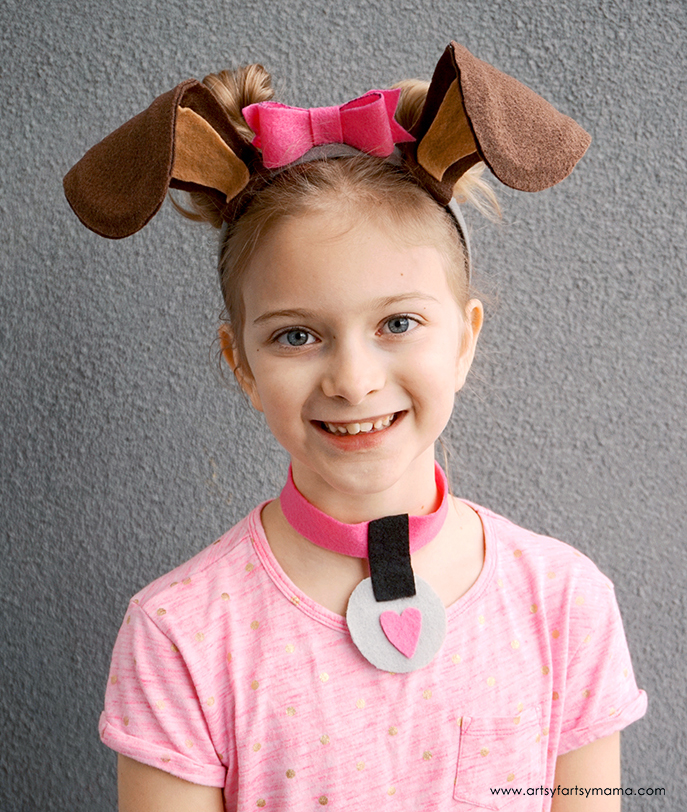 DIY Dog Costume Accessories | artsy-fartsy mama