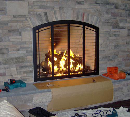 Fireplace Screens For Your Home Safety | Home Design