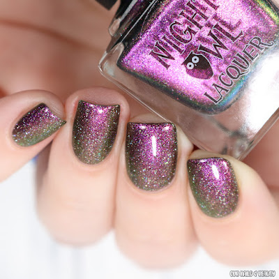 Night Owl Lacquer-Wings of Night