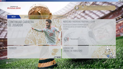 FIFA 14 FIFA 18 World Cup 2018 Russia Theme by DerArzt26
