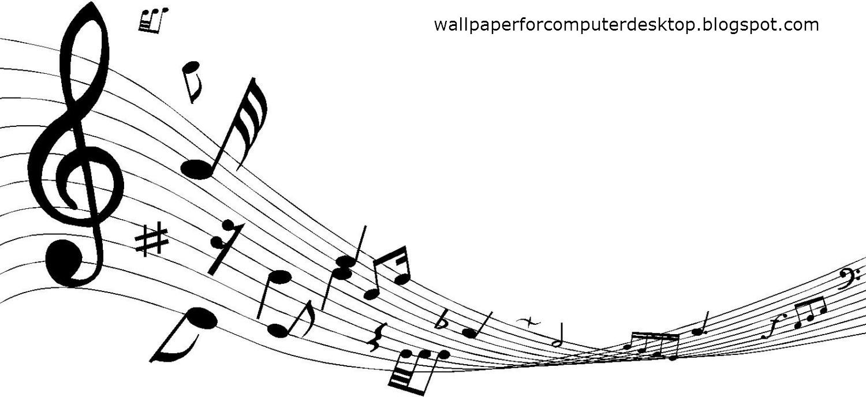 wallpaper for computer desktop  decorative music notes