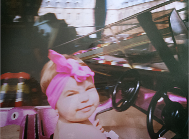 pink bandana style fashion