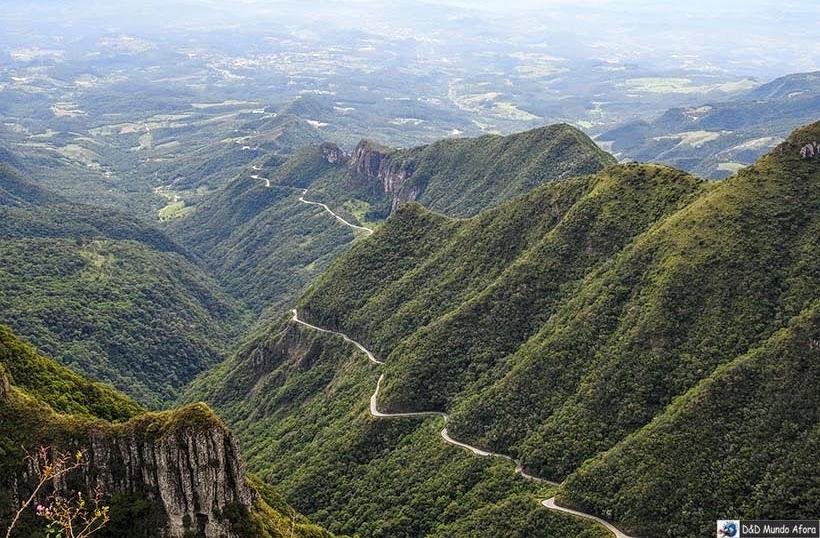 Serra do Rio do Rastro - Diário de bordo do Encontro Rota Sul em Santa Catarina