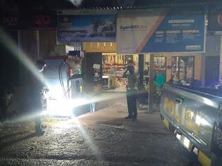 Antisipasi Gangguan Kamtibmas, Personil Polsek Curio Polres Enrekang Galakkan Patroli Blue Light
