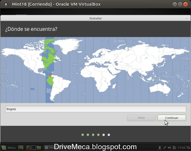 DriveMeca instalando Linux Mint Sarah paso a paso