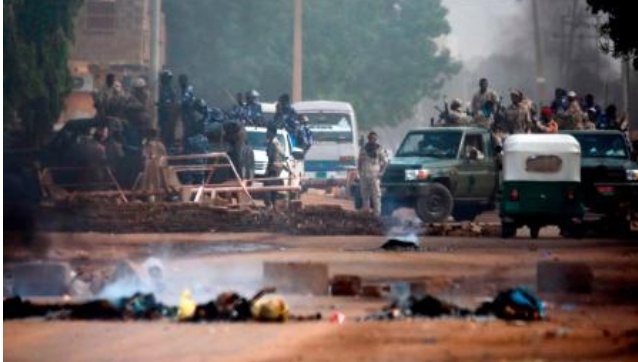 13 killed as Sudan military breaks up sit-in