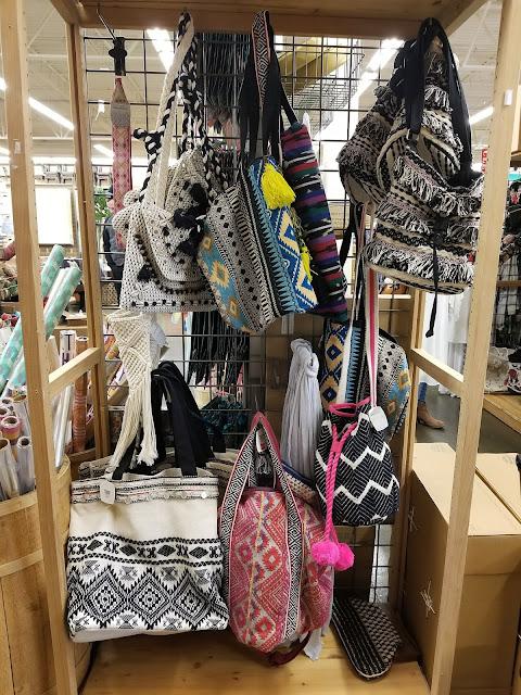 boho carpet bags