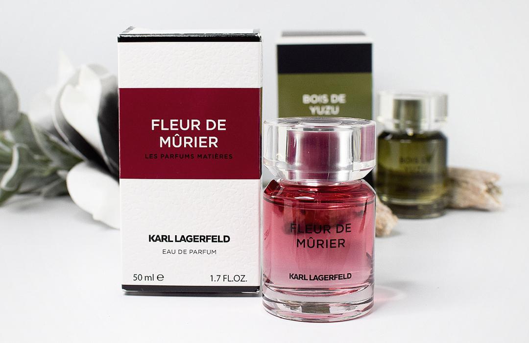 Karl Lagerfeld, Les Parfums Matiéres Fleur de Mùrier, Bois de Yuzu