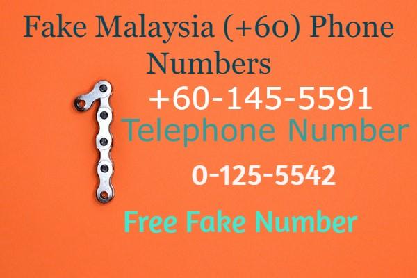 Fake Malaysia (+60) Phone Numbers-Free Fake Number-Random Number Generator-Fake Number