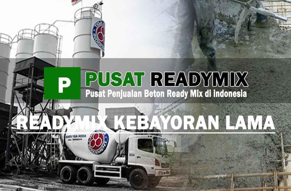 harga beton ready mix Kebayoran Lama