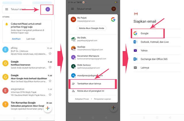 Cara Kirim Pesan Email di HP Android