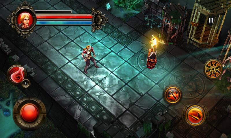 dungeon hunter 1 apk mali