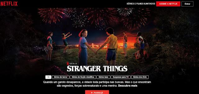 Netflix grátis sem conta
