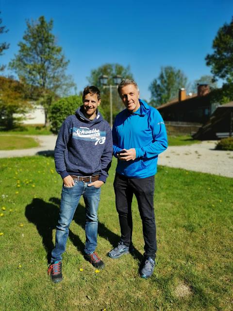 Alexander Tauscher für den Radioreise Podcast unterwegs in Bischofsgrün
