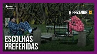 A Fazenda 12 – Mirella e Victória falam de amizades – Lipe e Jakelyne falam de suas prioridades