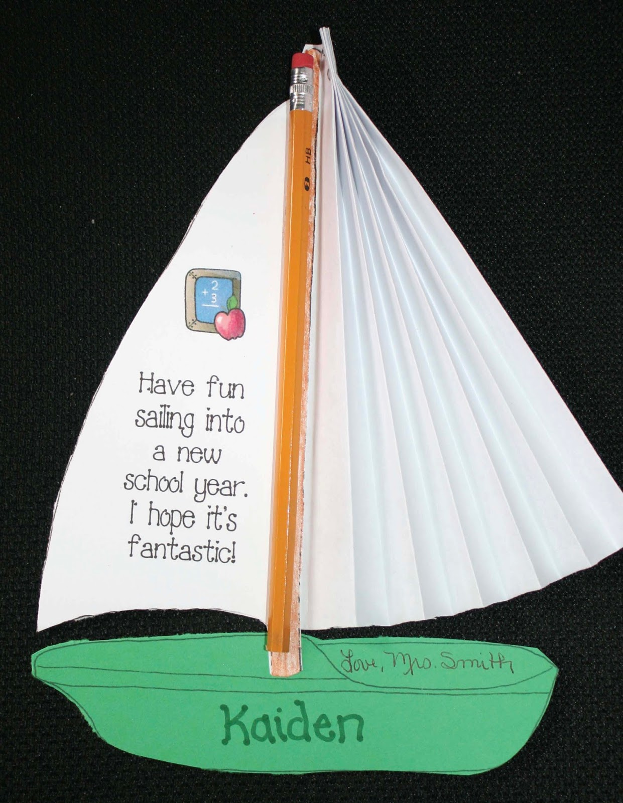 Sailing Into Summer Or A New School Year Craft Amp Treat