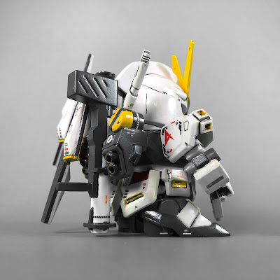 Painted G Generation-F SD BB Senshi RX-93 Nu Gundam