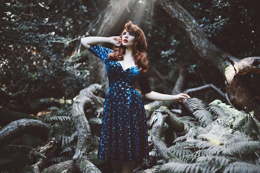 Constellation Print, Celestial Dress, Collectif London, AW17 style, The Style Guide Blog