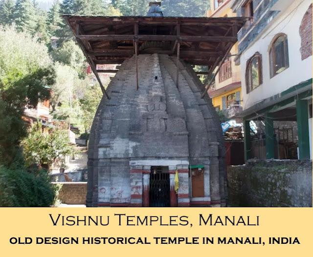 Manali Attraction - Vishnu Temples