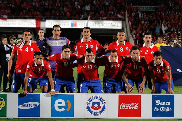 Formación de Chile ante Ecuador, Clasificatorias Brasil 2014, 15 de octubre de 2013