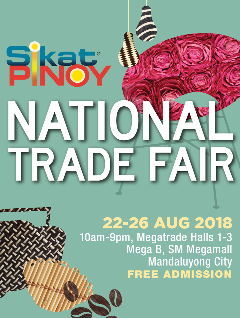 2018 Sikat Pinoy National Trade Fair: The Best of the Regions and More