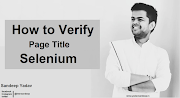 How To Verify Page Title in Selenium