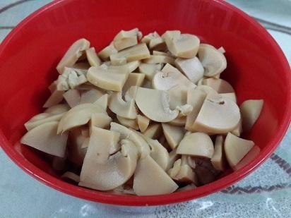 Resepi Popia Ayam Cendawan