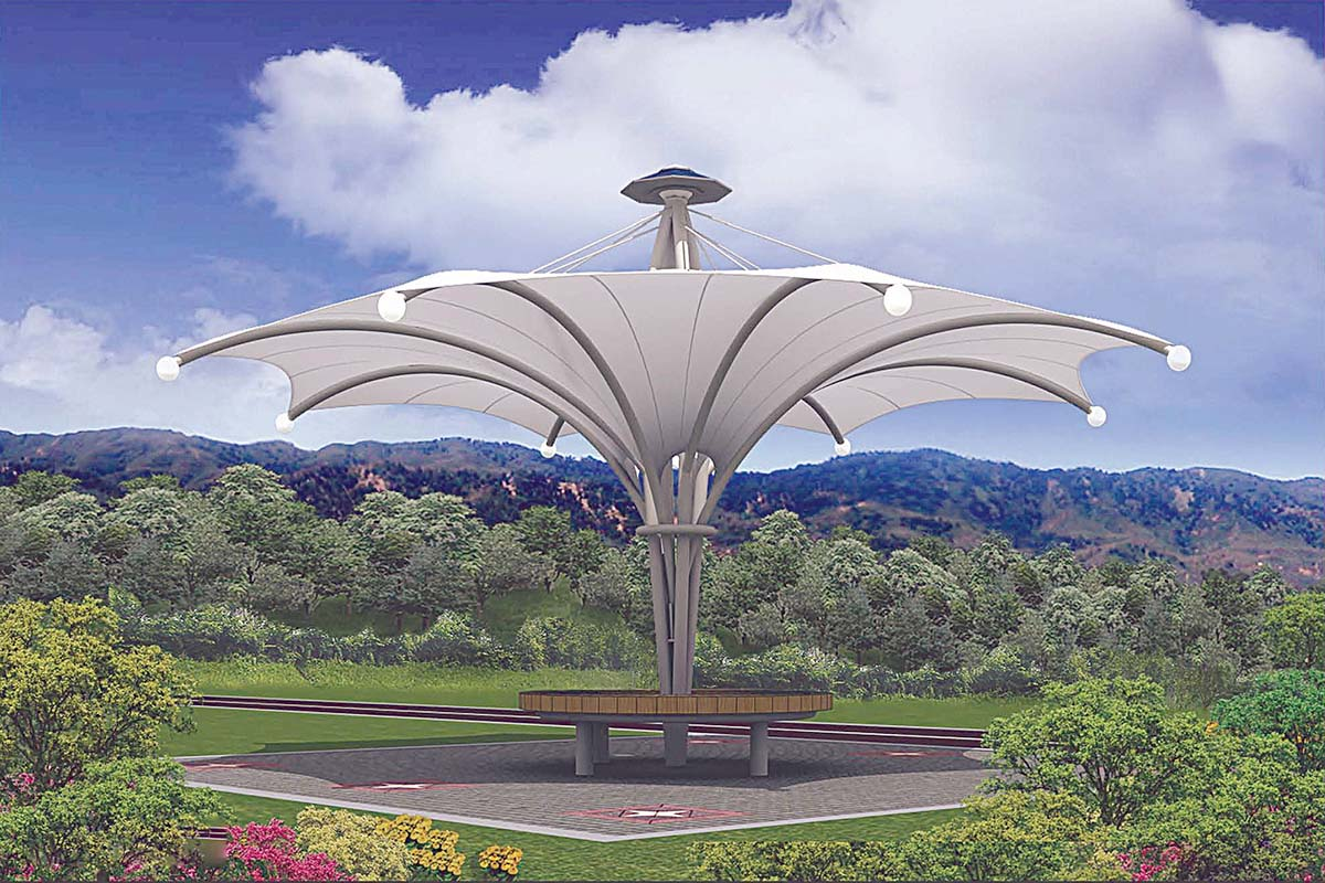 Tensile Shades in UAE Tensile Shades Structure UAE