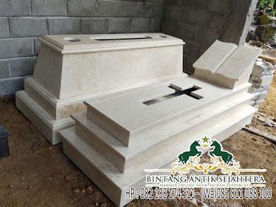 Gambar Makam Kristen Minimalis