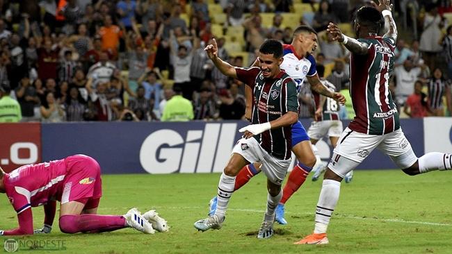 Bahia é derrotado pelo Fluminense