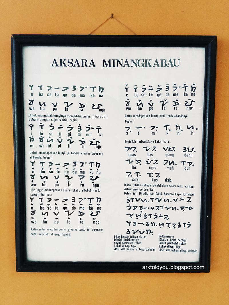 review-wisata-museum-aditya-warman-sumatera-barat-sumbar-indonesia-padang-ajengmas-aksara-minangkabau