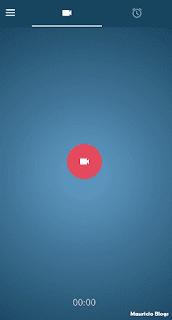 grabar video un video con pantalla apagada