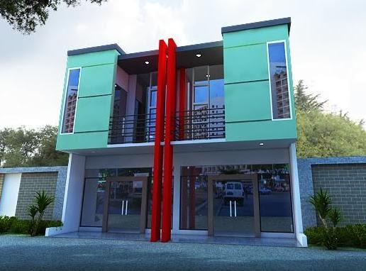 60 Desain Ruko 2 Lantai Minimalis Dan Modern Pekanbaru Interior