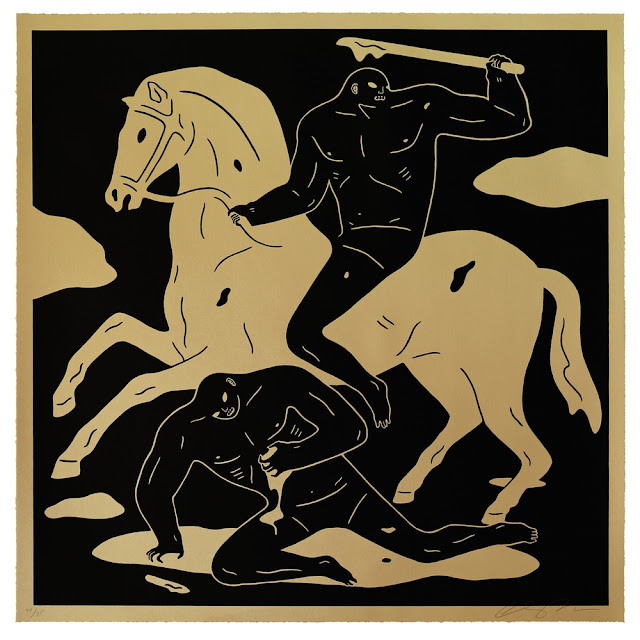 "Cleon Peterson just released a brand new edition entitled ""The Nightcrawler"" via his personal website."