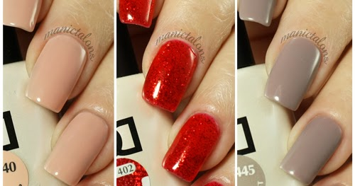 Manic Talons Nail Design Daisy Duo Swatches Bold And Soft Shades