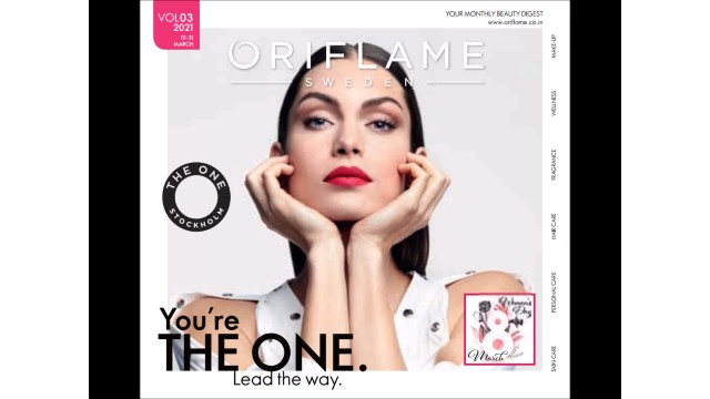 Oriflame catalogue march 2021 pdf
