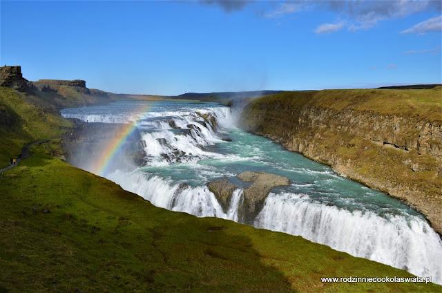 Islandia wyspa lodu i ognia- Islandzkie wodospady